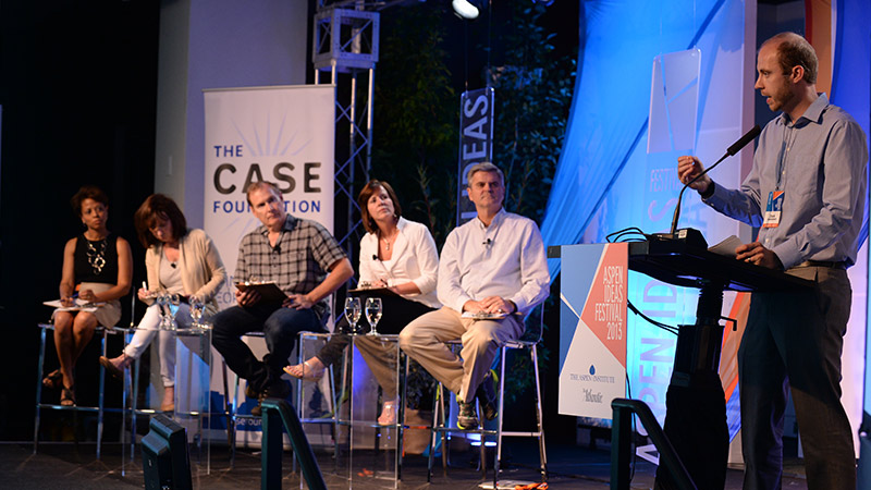 The First Pitch Competition Hits the Aspen Ideas Festival