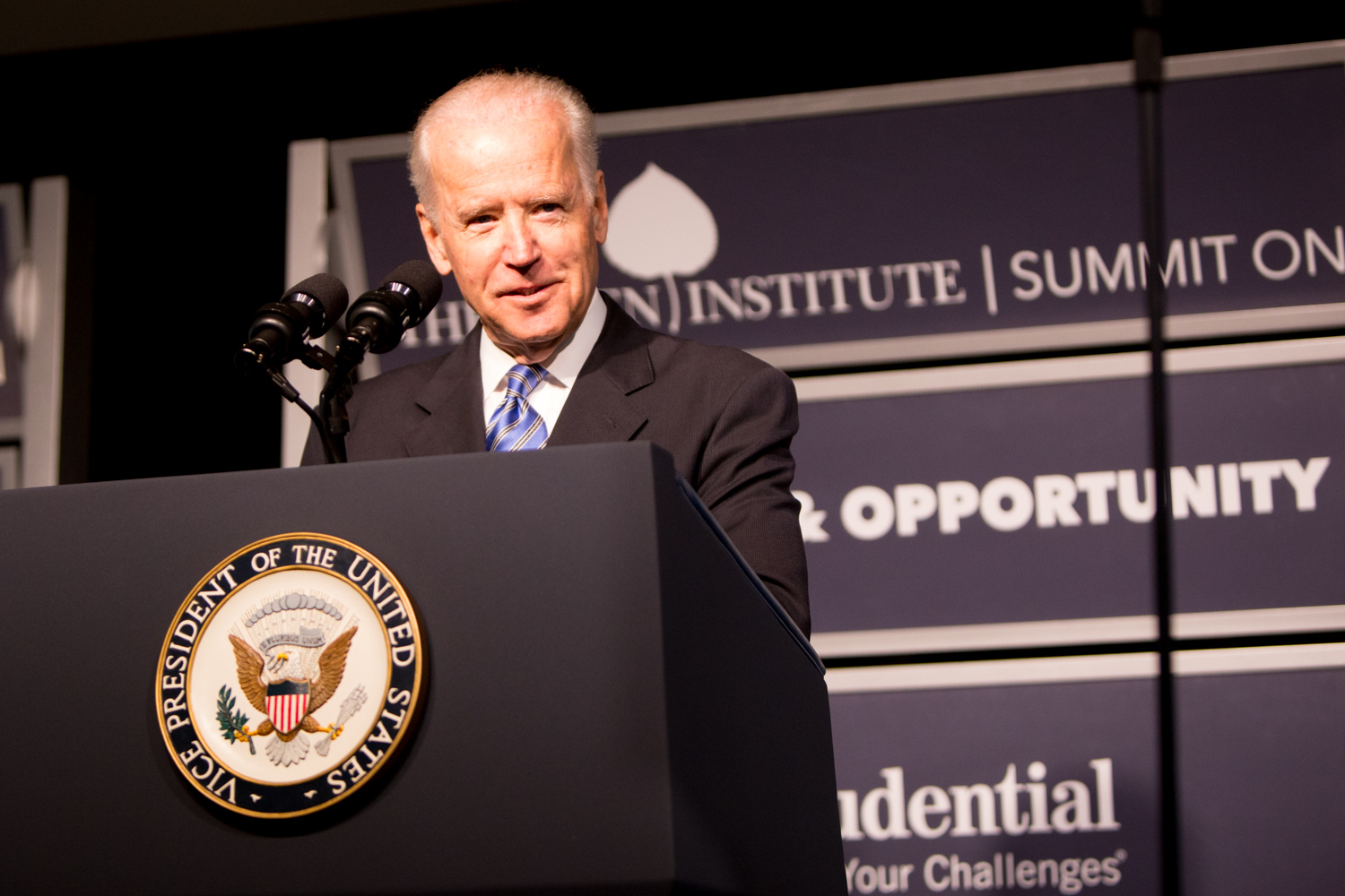 Joe Biden at the Summit on Inequality and Opportunity
