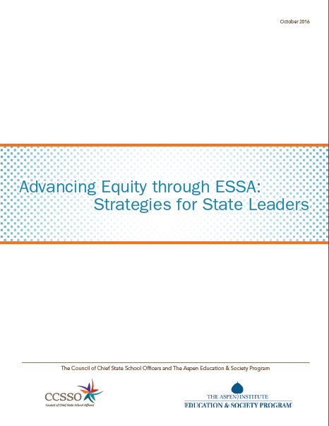Advancing Equity through ESSA: Strategies for State Leaders