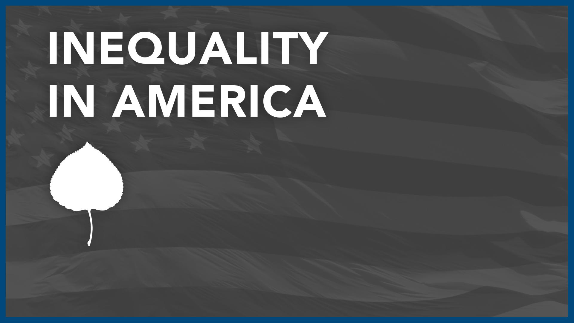 How Do You Define Inequality?