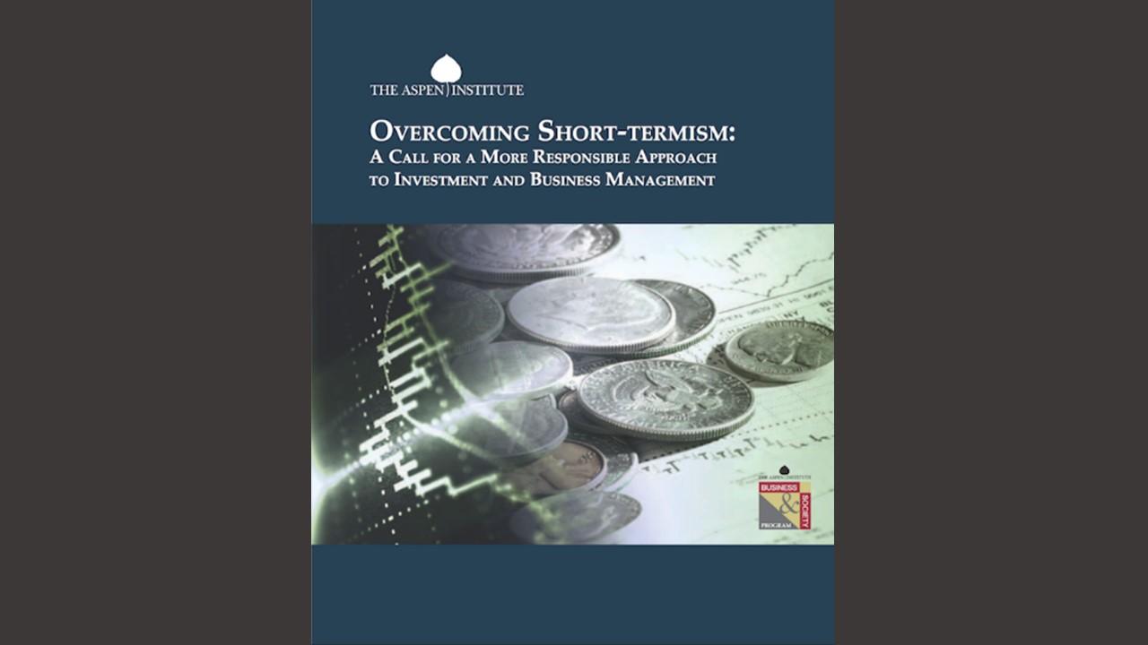 Overcoming Short-Termism