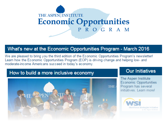EOP Newsletter - March 2016