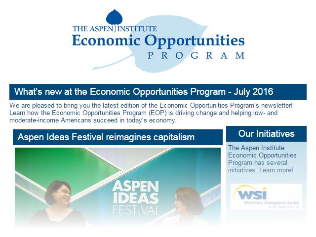 EOP Newsletter - July 2016