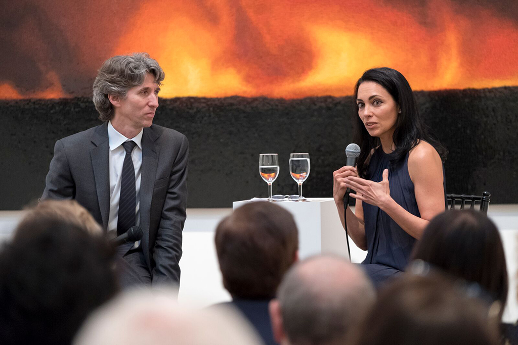 Teresita Fernández Unveils Fire(America)