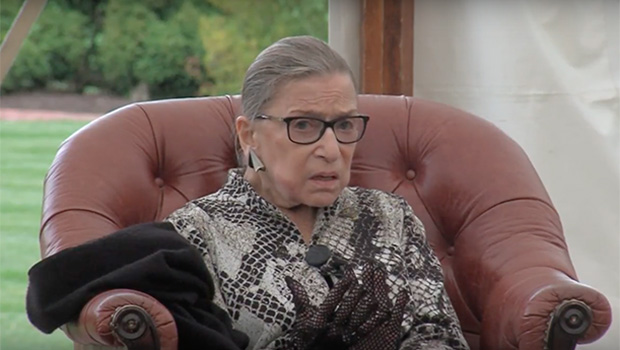 Watch Ruth Bader Ginsburg Discuss Her New Book