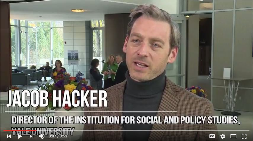Jacob Hacker on the Transfer of Risk to Workers and Their Families
