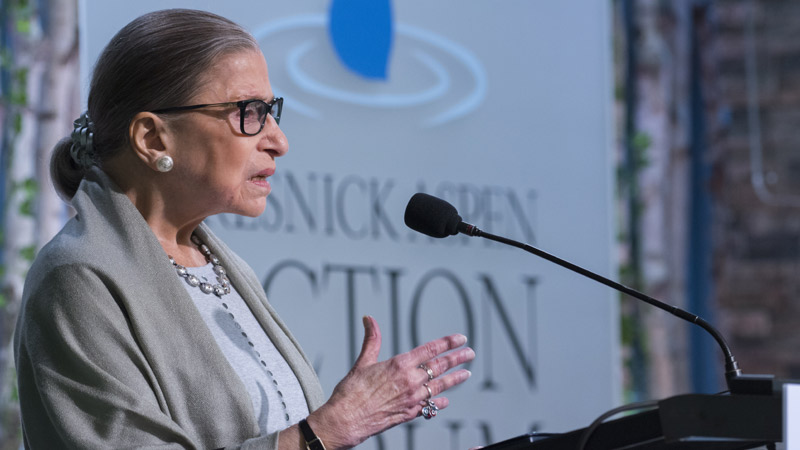 Justice Ginsburg Reviews Supreme Court Term