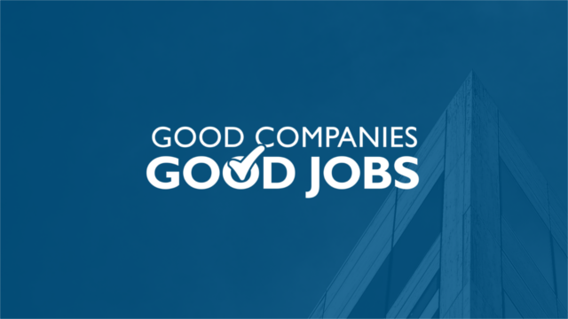 More from Good Companies/Good Jobs