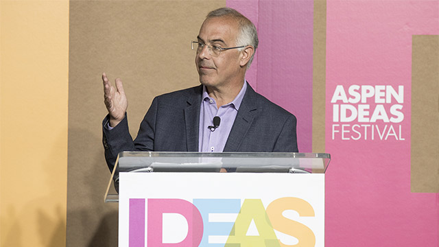 David Brooks Joins the Aspen Institute to Find Common Ground Across the Country