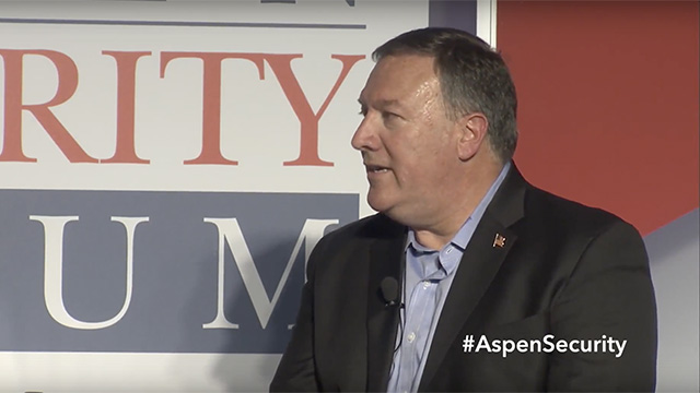 New Secretary of State Mike Pompeo Talks North Korea