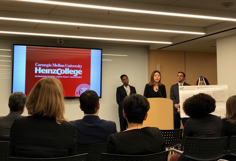 A Student Perspective: Future of Work Initiative Teams Up with CMU Heinz Students to Study Emerging Technologies & the Changing Nature of Work