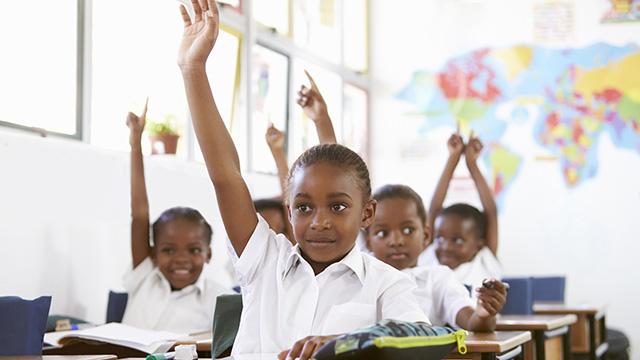 African elementary school