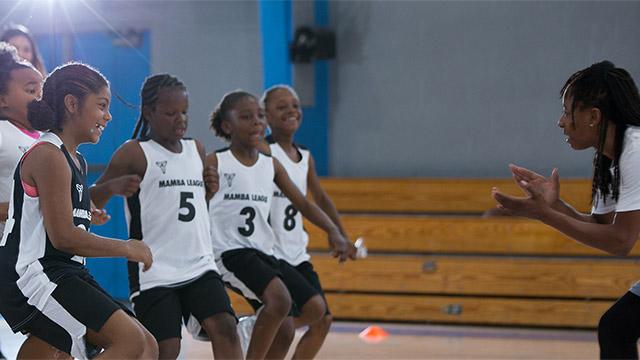 Mamba League players