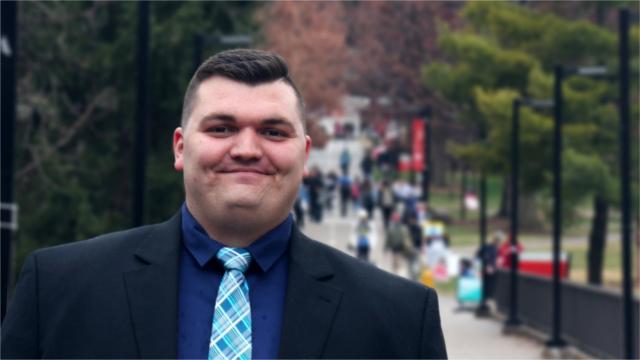 Ryan Dickerson, Metropolitan College participant. Photo by Jason Polete.