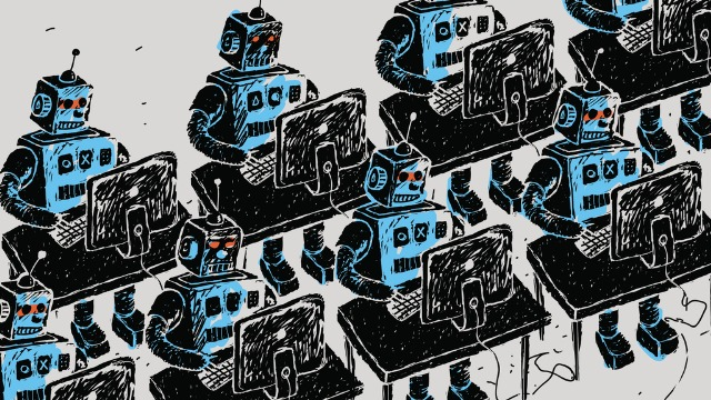Bots using computers