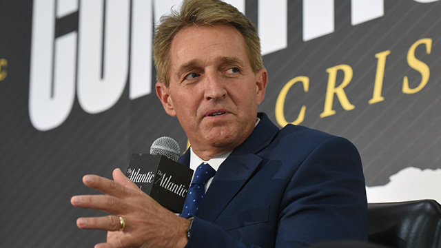 Jeff Flake: 'We Can't Have That on the Court'
