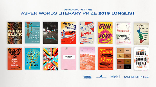 16 Books Up for the Aspen Words Literary Prize