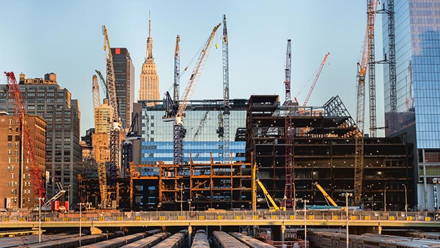 Construction in NYC