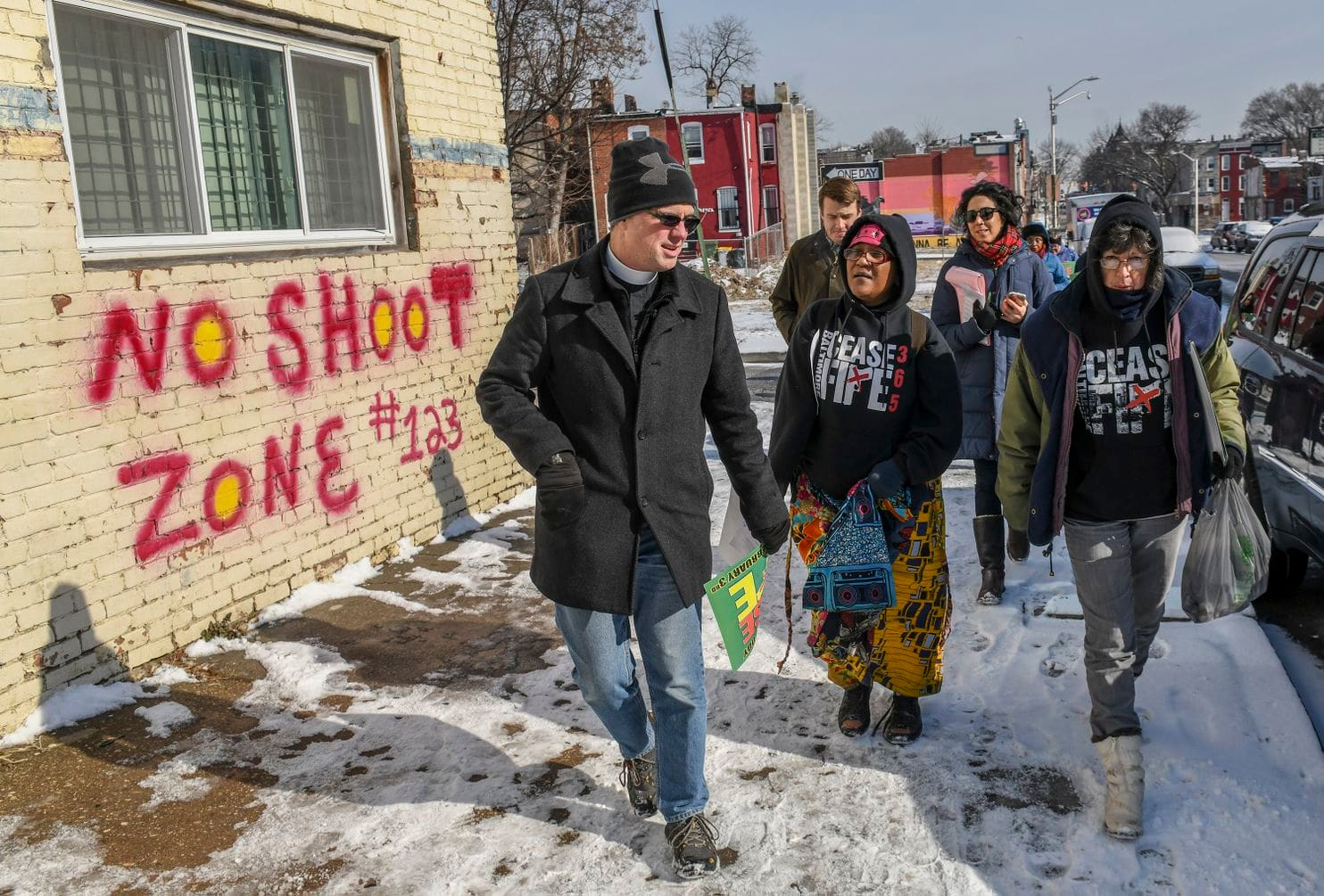 Baltimore's Ceasefire program strives to create peace amid the violence- at least for a weekend