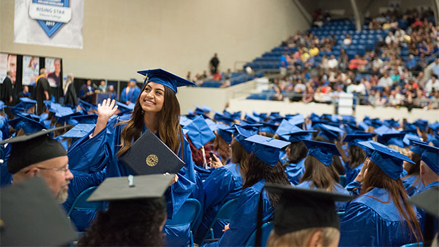 Odessa College graduation