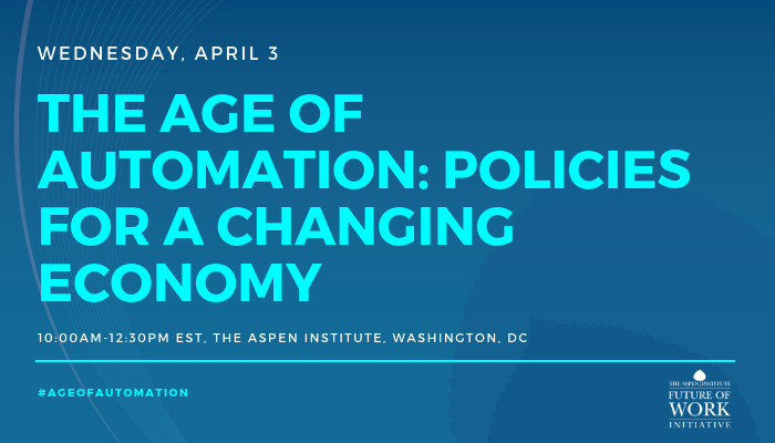The Age of Automation: Policies for a Changing Economy