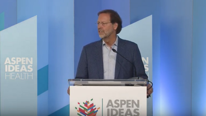 """Aspen Ideas: Health Opening Remarks: """"A Culture of Health is a Culture of Freedom"""""""