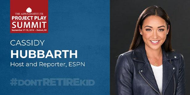 Meet ESPN's Cassidy Hubbarth