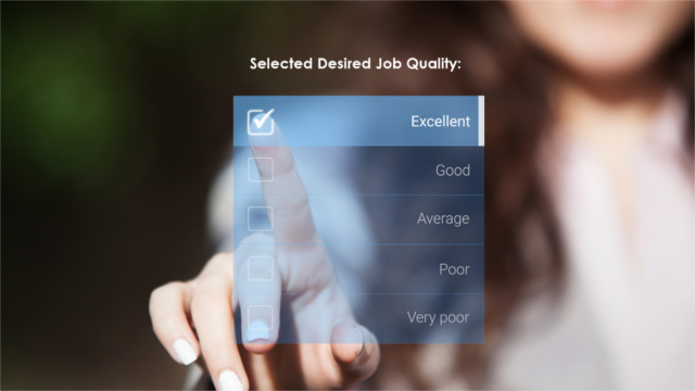 Assessing Job Quality