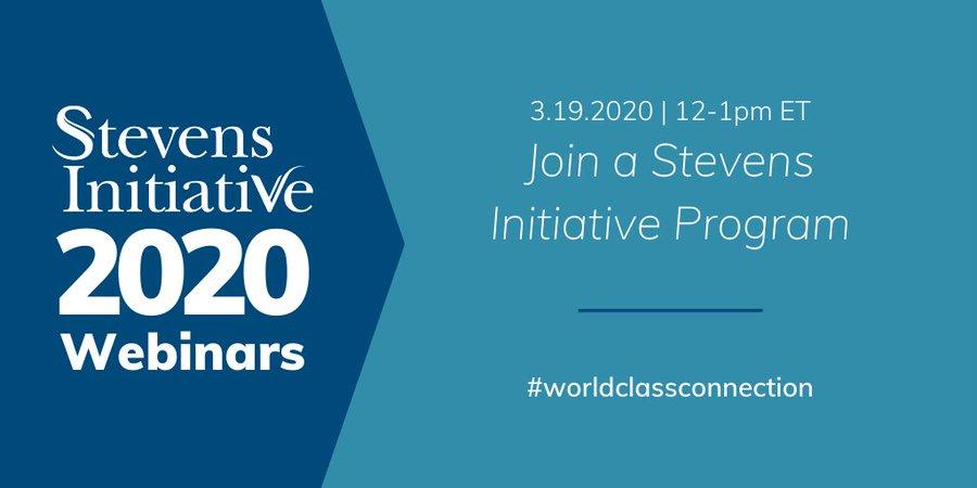 Join a Stevens Initiative Program