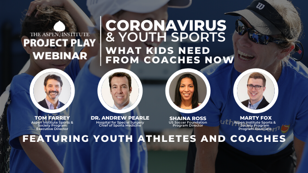COVID-19 and Youth Sports: What Kids Need from Coaches Now
