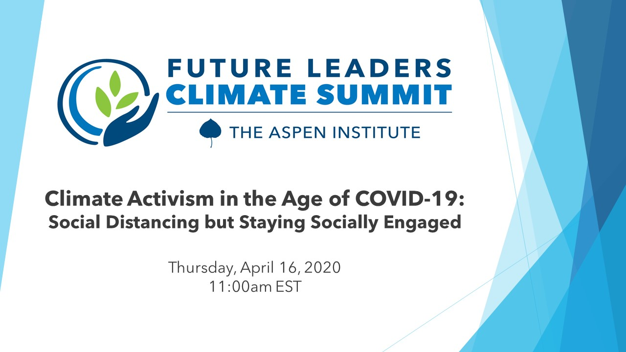 Activism in the Age of COVID-19