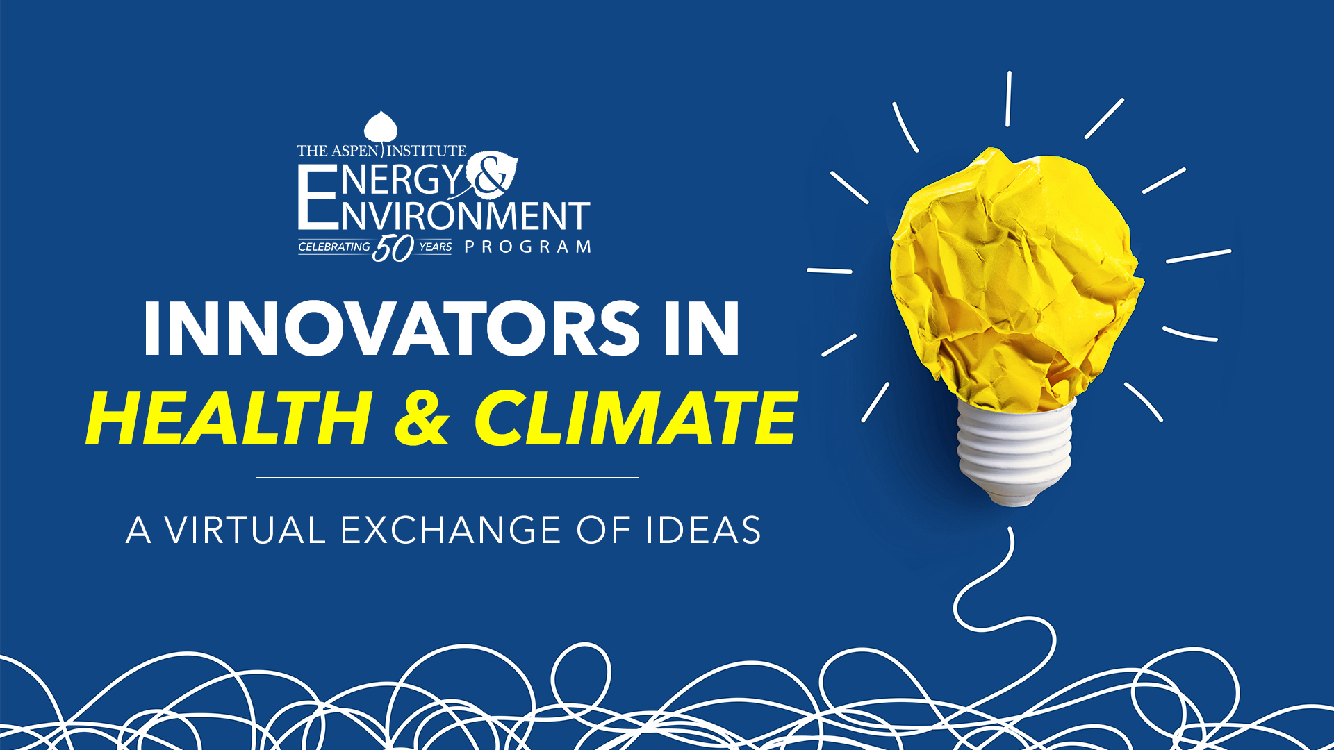 Innovators In Health & Climate: A Virtual Exchange of Ideas