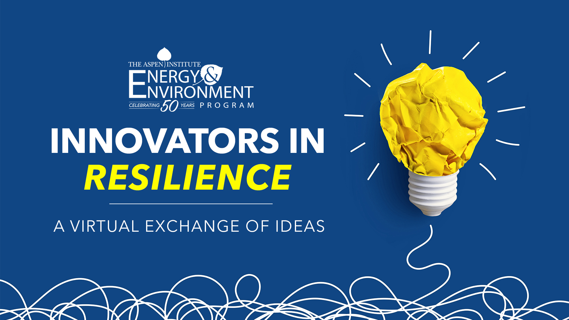 Innovators In Resilience: A Virtual Exchange of Ideas
