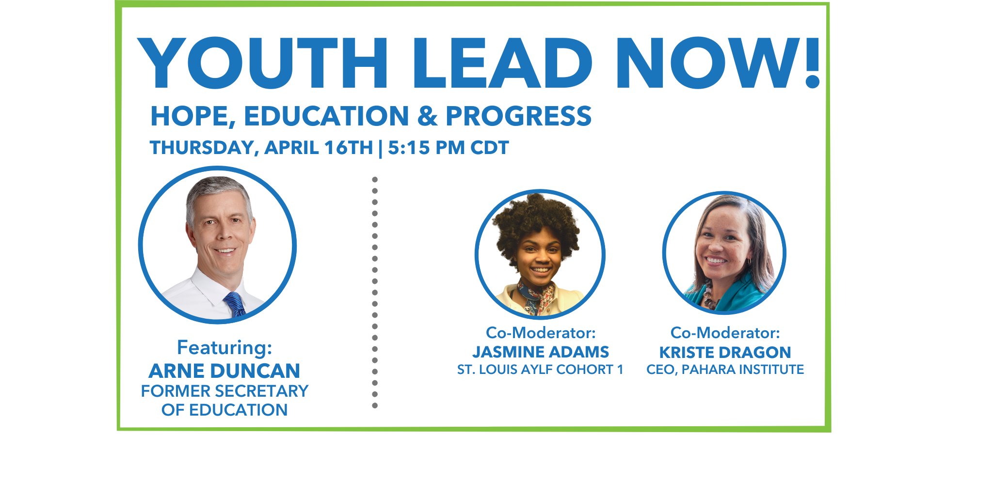 Youth Lead Now! Hope, Education, & Pathways to Progress