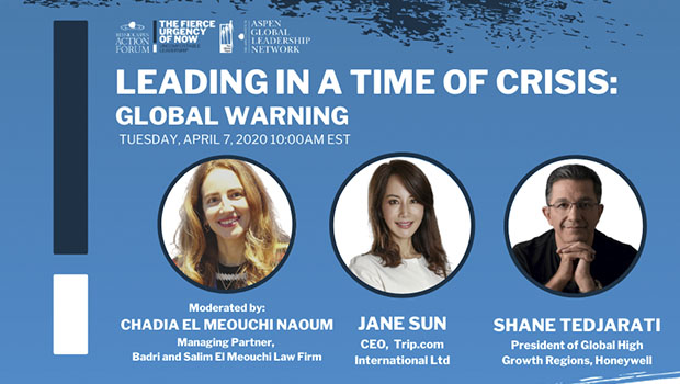 Leading in a Time of Crisis: Global Warning