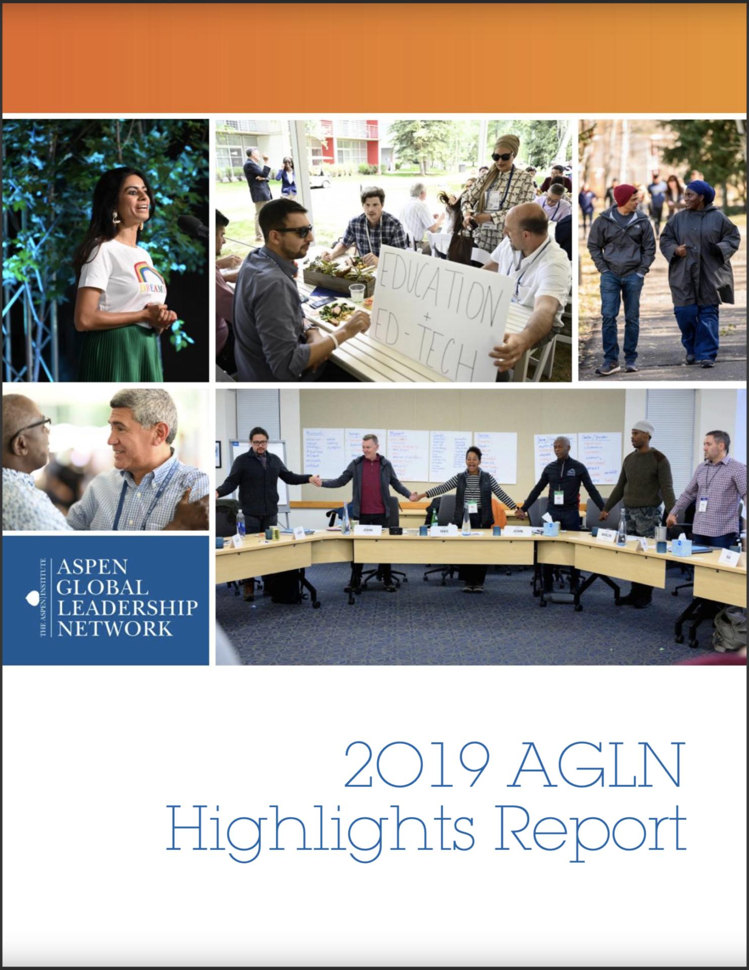 2019 Aspen Global Leadership Network Highlights Report