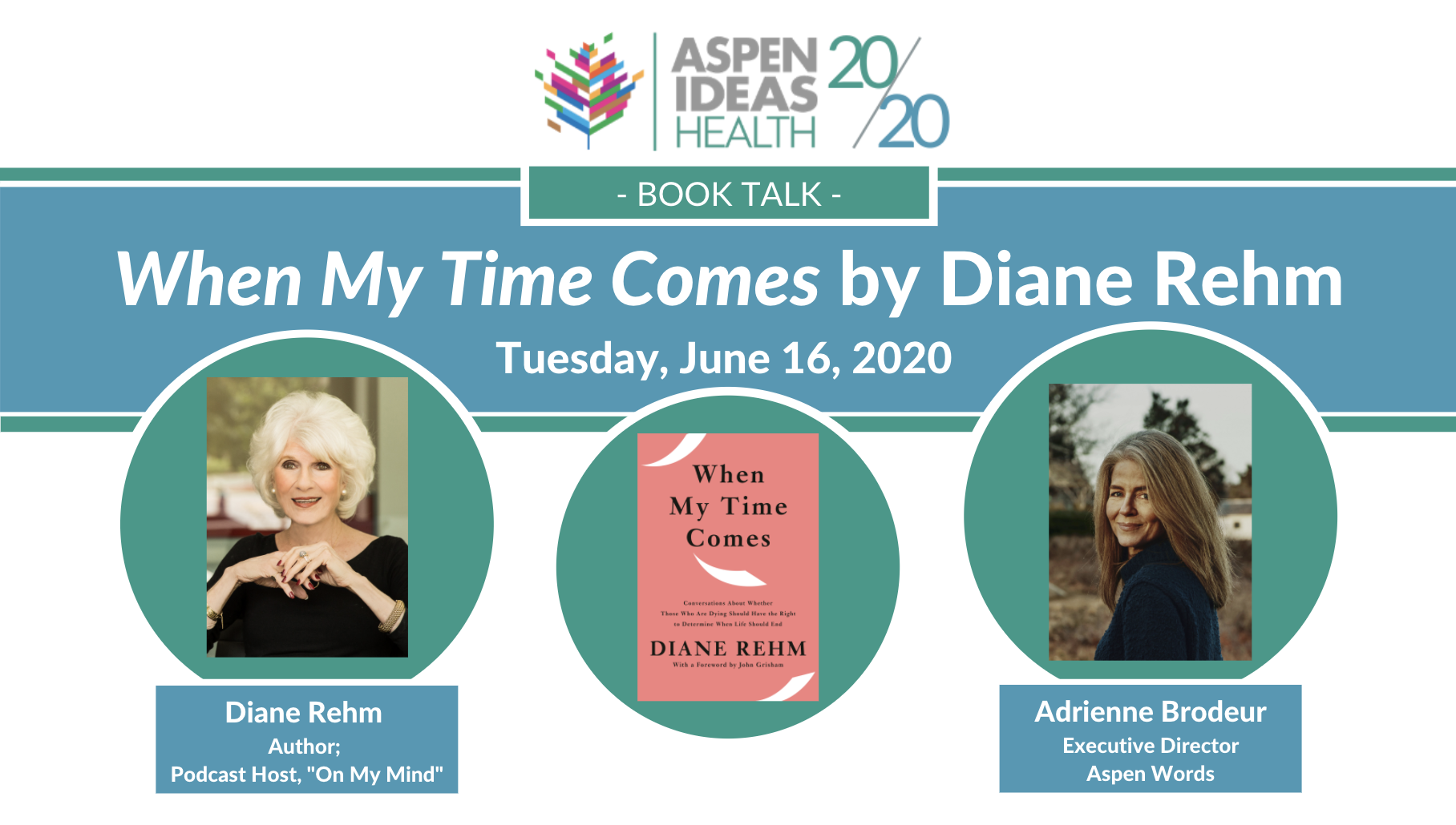 Diane Rehm: When My Time Comes