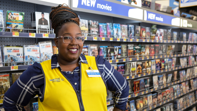 Photo of Shawnta Henryetta, Walmart associate and Live Better U student