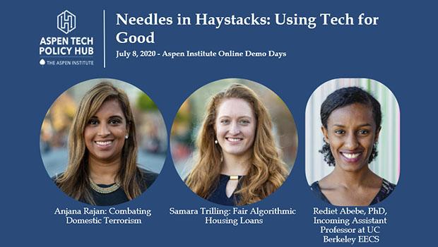 Needles in Haystacks: Using Tech For Good