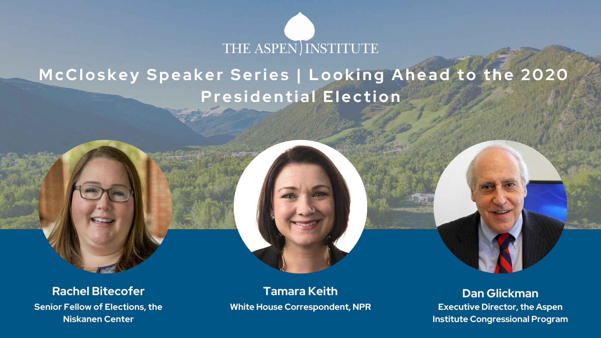 Looking Ahead to the 2020 Presidential Election