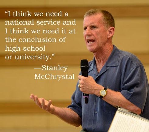 McChrystal National Service