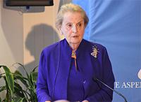 Institute Trustee Madeleine Albright on US Involvement in Syria