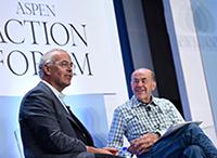 David Brooks and Skip Battle Avoid Politics To Talk Character Development