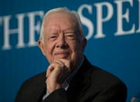 Former President Jimmy Carter Talks Racism, Foreign Policy, Gun Violence, and More