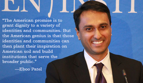 Eboo Patel on the American Promise