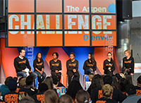 Denver Teens Think Deep About the Sea during the Aspen Challenge